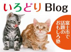 『いろどりブログ』│富士市で話題の面白い塾